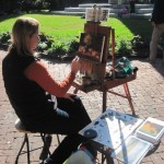 Still Life Painter at Washington Park