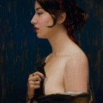 Lynda, oil, 20 x 16.