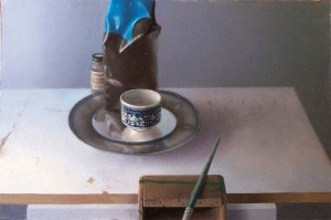 Turkish Coffee, oil, 16 x 20.