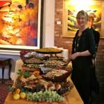 A festive stop on ARTfeast's Edible Art Tour