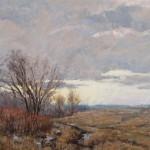 March Wind, pastel, 20 x 30.