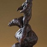 Questing Bear, bronze.