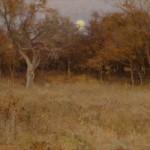 The Hunters Moon, oil, 20 x 24.