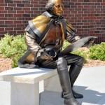 George Washington, bronze.