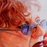 Judy Chicago, oil, 36 x 48.