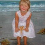Emily, oil, 30 x 24, by Patty Bailey Sheets