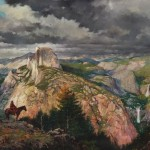 Romance of the West, oil, 40 x 96.