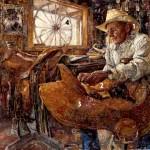 The Craftsman, oil, 40 x 50