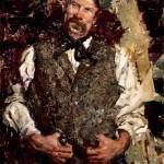 The Irishman, oil, 24 x 18.