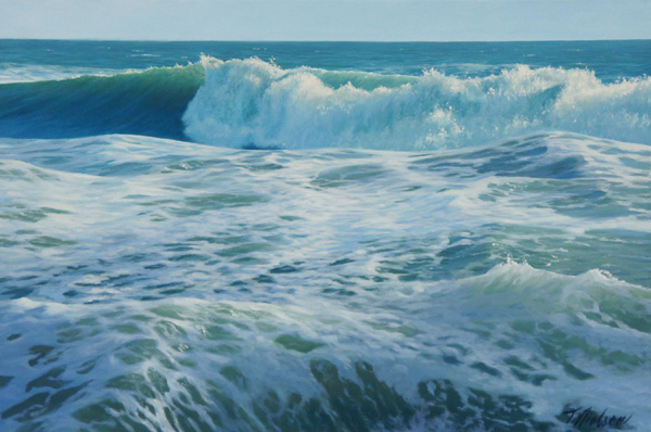 Tom Nielsen, Sea Green, oil, 24 x 36.