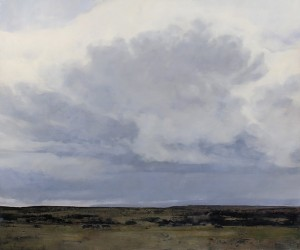 Douglas Fryer, Shadow of the Thunderhead, oil, 50 x 60.