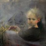 Stanka Kordic Lift the Veil, oil, 20 x 30.