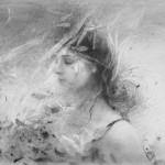 Stanka Kordic Release, graphite, 23 x 20.