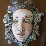 Kim Brown, Nesting, terra cotta clay, 7 x 9.