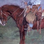 Jill Soukup, Hold Steady, oil, 37 x 46.