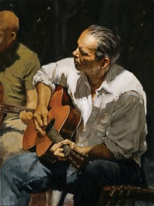 Calvin Lai, Barry, oil, 24 x 18.