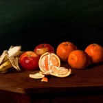 Joseph Kleitsch, Still Life With Fruit, oil, 16 x 24, George Stern Fine Arts.