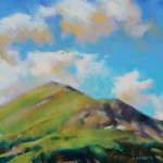 Desmond O'Hagan, North of Leadville, Colorado, pastel, 16 x 20.