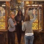 James Crandall, Carli, oil, 30 x 20.