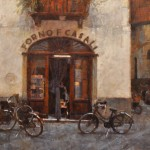 James Crandall, Forno Casali, oil, 24 x 30.