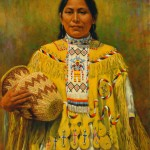 Dan Bodelson, Apache, oil, 24 x 20.