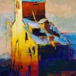Caleb Meyer, Stand Apart, oil, 24 x 18.