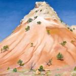 Georgia O'Keeffe, Hill, New Mexico, oil, 30 x 40.