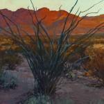 Len Chmiel, Twilight Icon, oil, 28 x 31.
