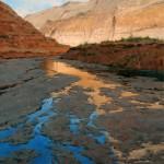 Jim Wilcox, Moki Canyon Reflections, oil, 40 x 30.