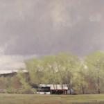 Ben Bauer, Springs Ignition, oil, 30 x 34.