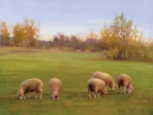 Peace and Quiet by Deb Kaylor at Coors Western Art Exhibit & Sale
