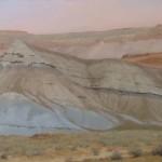 D. LaRue Mahlke, Dust to Dust, pastel, 20 x 30.