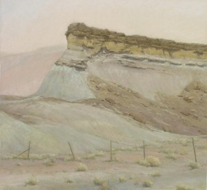 D. LaRue Mahlke, Sandcastle, pastel, 16 x 17.