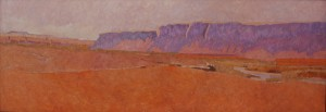 Andy Taylor, Un Novanto Uno, oil, 24 x 68.
