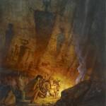 Buck McCain, Ancient Shine, oil, 30 x 24.