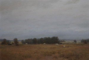 D. LaRue Mahlke, New Every Morning, pastel, 19 x 28.