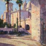 Walter Porter, The Back Door, oil, 16 x 12.