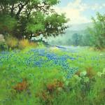 Robert Pummill, Springtime, oil, 30 x 40.