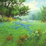 Robert Pummill, Springtime, oil, 30 x 40.