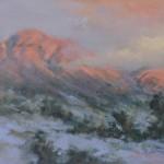 Marla Smith, Granite Mt. Glow, oil, 11 x 14.