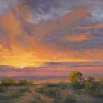 Marla Smith, Magic Moment, oil, 10 x 20.