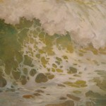Ann M. Murphy, Sea Expressions/Green, oil, 24 x 26.