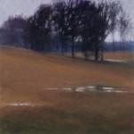 Camille Day, Dream Pasture, pastel, 12 x 12.