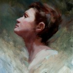 Michelle Dunaway | Jeanne D'Arc, oil, 16 x 12.