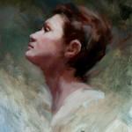 Michelle Dunaway | Jeanne D'Arc, oil, 16 x 12.