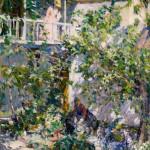 E. Charlton Fortune, The Señora's Garden, oil, 30 x 26. Estimate: $300,000-$500,000.