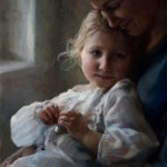 Michelle Dunaway | Her Mother's Locket, oil, 20 x 16.