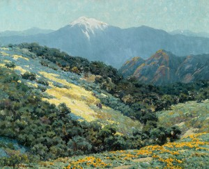 Granville Redmond, Valley Splendor, oil, 20 x 25. Estimate: $150,000-$250,000.