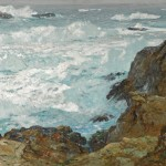 William Frederick Ritschel, Rockbound Coast, oil, 30 x 40. Estimate: $90,000-$120,000.