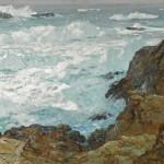 William Frederick Ritschel, Rockbound Coast, oil, 30 x 40. Estimate: $90,000-$120,000.